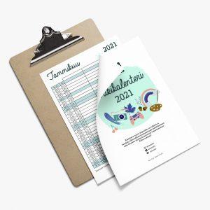 Tasaseksin vuoden 2021 tulostettavan kalenterin tuotekuva